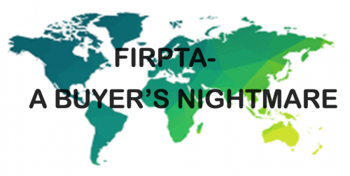 FIRPTA BUYER NIGHTMARE