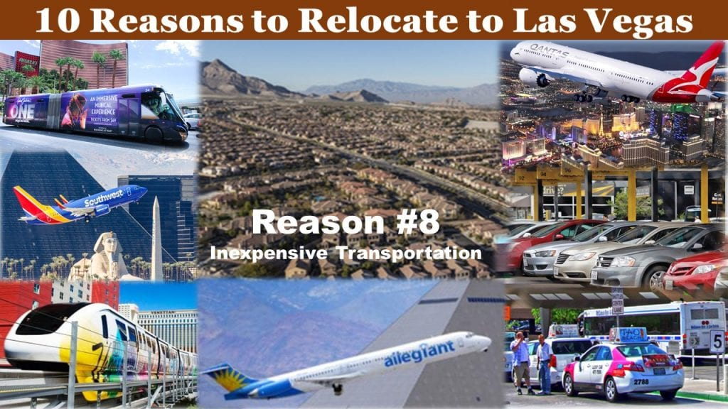Top 10 reasons to relocate to Las Vegas Reason #8