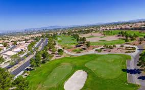 golf course with view