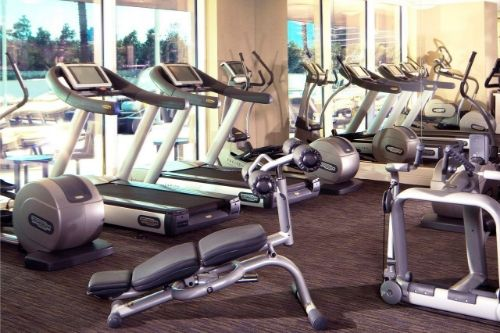 trump international high rise las vegas fitness