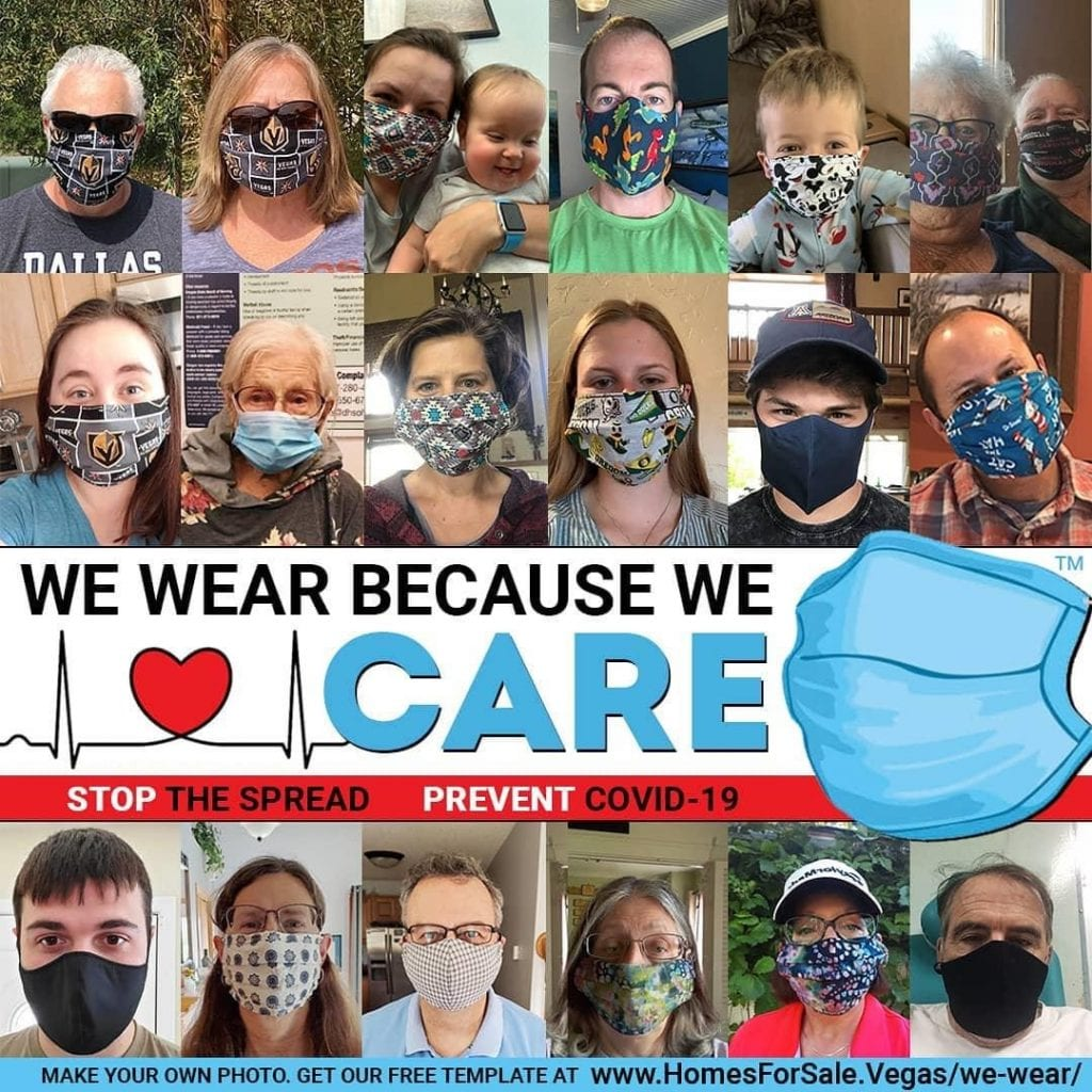 wear a mask because you care