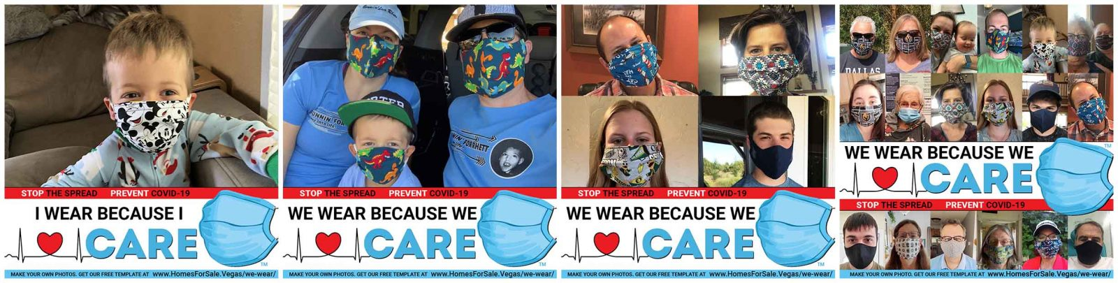 We Wear Because We Care Face Mask