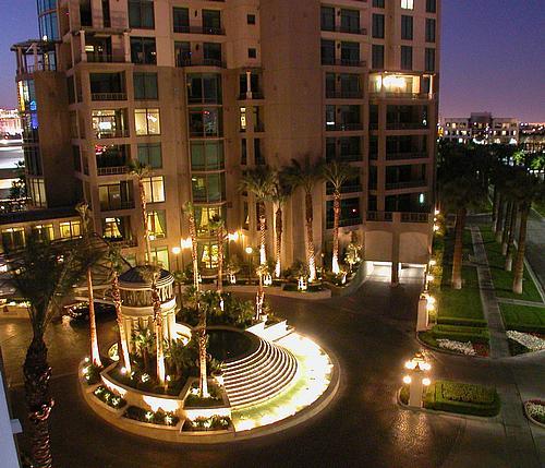 Las Vegas Strip high rise condominiums