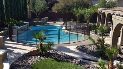 NLV pool with a fence house for sale