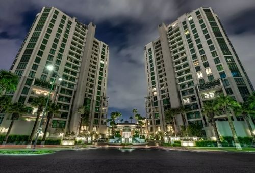 park towers high rise condominiums luxury