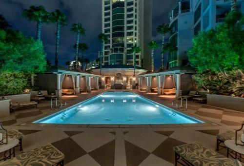 high rise condominium luxury Las Vegas