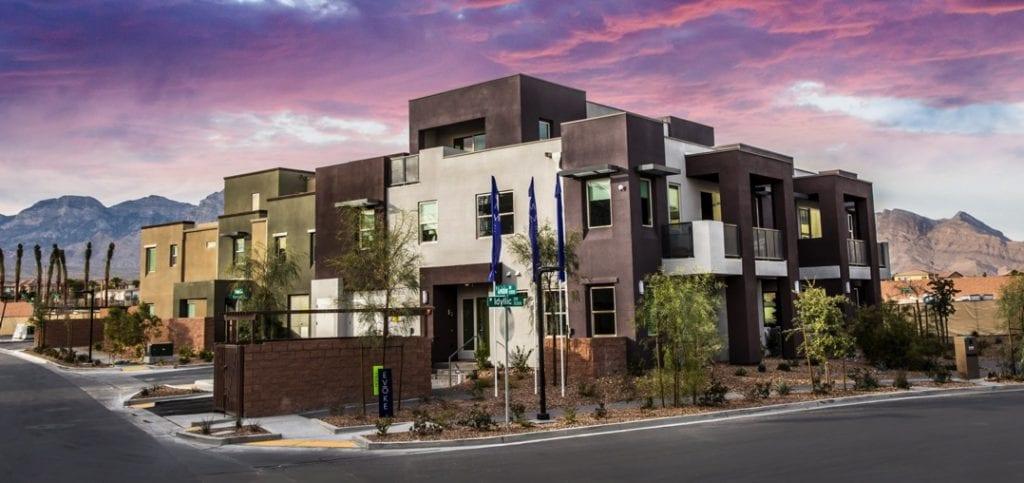 55+ Las Vegas townhouse modern NV Senior Citizen retire