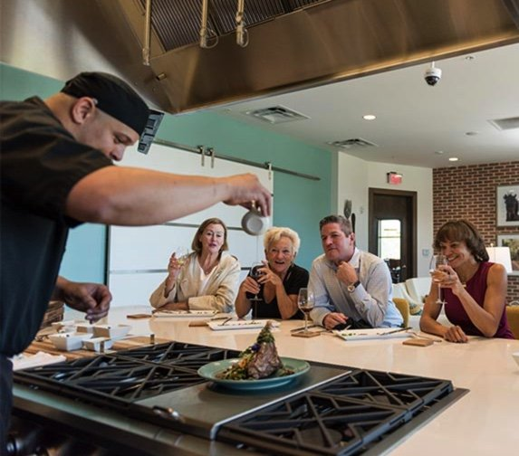 chef and cooking lesson senior lifestyle Las Vegas nv