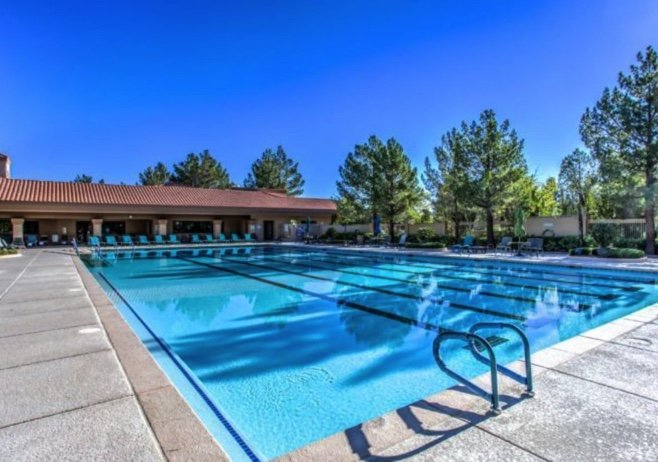 Sun City Anthem Outdoor Pool 55+