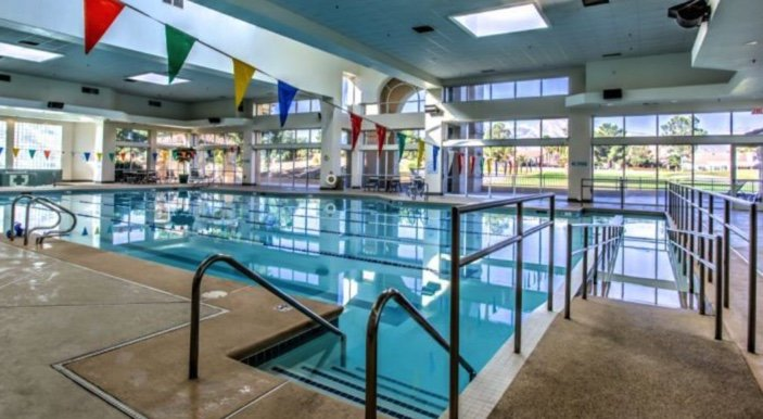 indoor senior citizen access pools community center 55+