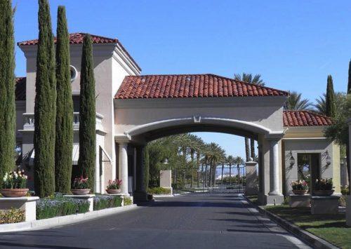 Siena guard gate private roads community center golf