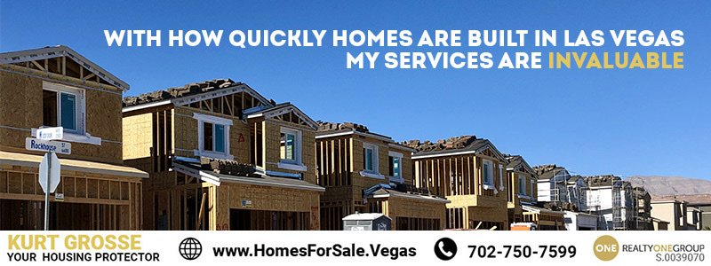 Free new home construction monitoring by Kurt Grosse Realty One Group Summerlin
