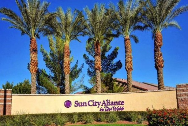 Sun City Aliante Sign North Las Vegas