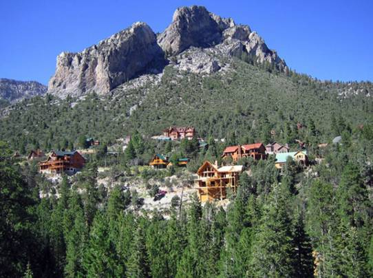 Mt. Charleston homes for sale cabins